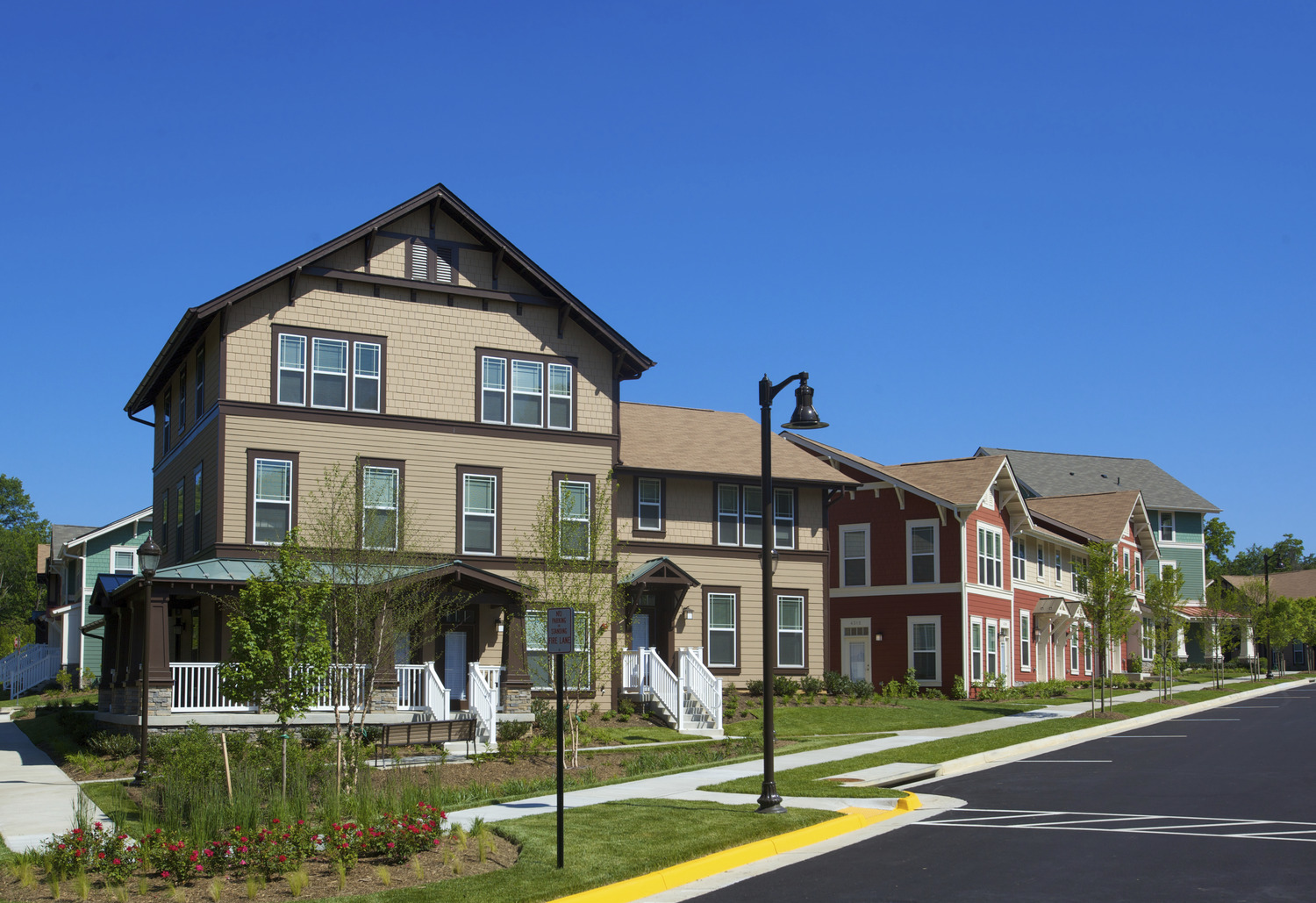 CBG builds George Mason University Faculty Housing, a 157 Townhomes Across 37 Buildings for University Faculty and Staff in Fairfax, VA - Image #4