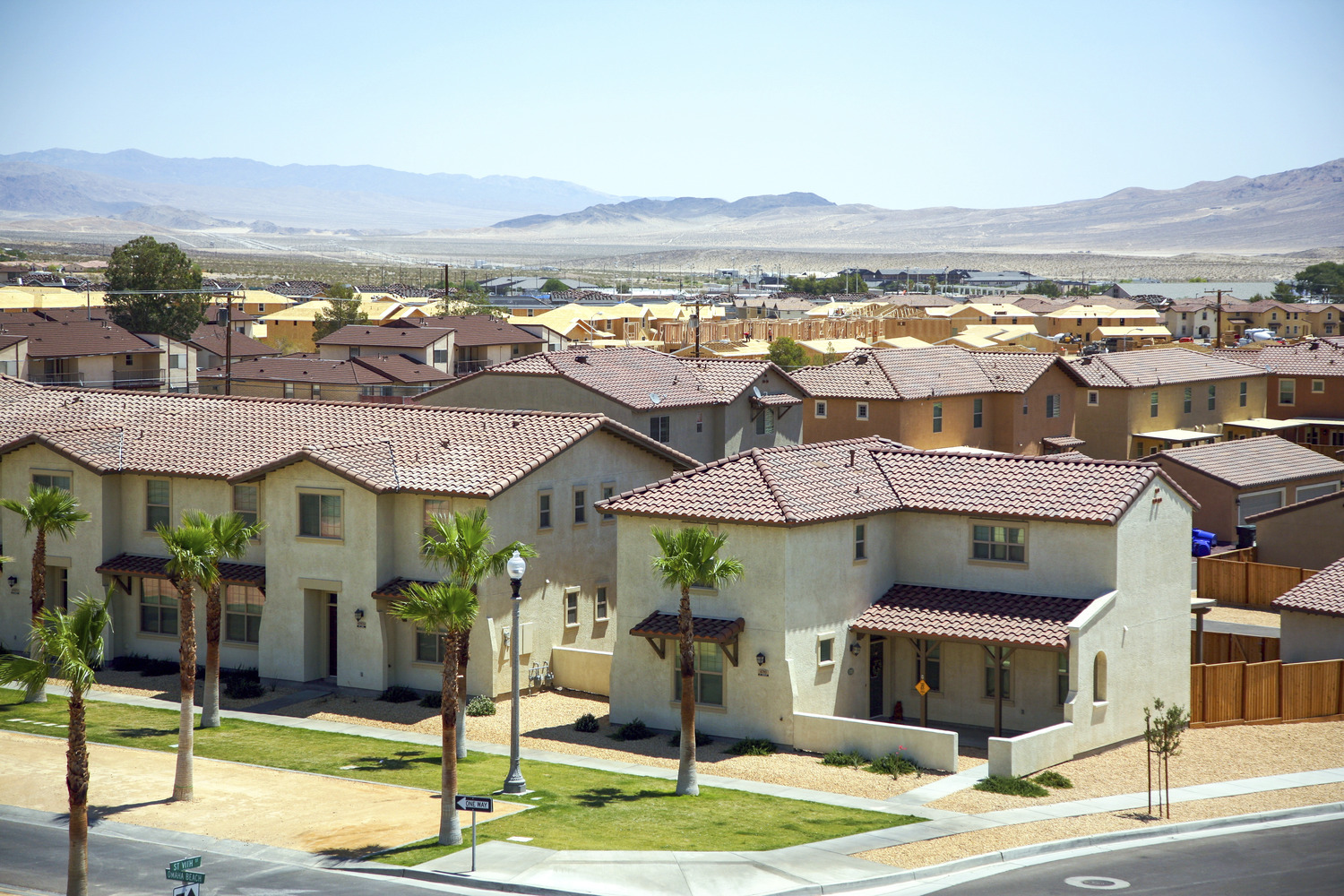 CBG builds The Villages at Fort Irwin, a 807 New Military Homes and 200 Senior Unaccompanied Housing Units in Fort Irwin, CA