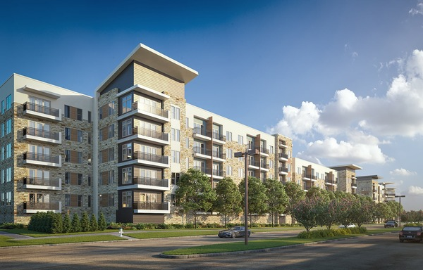 CBG builds Vitruvian West Phase III, a 405-Unit, LEED® Silver Apartment Community with Precast Parking and Amenities in Addison, TX - Image #1