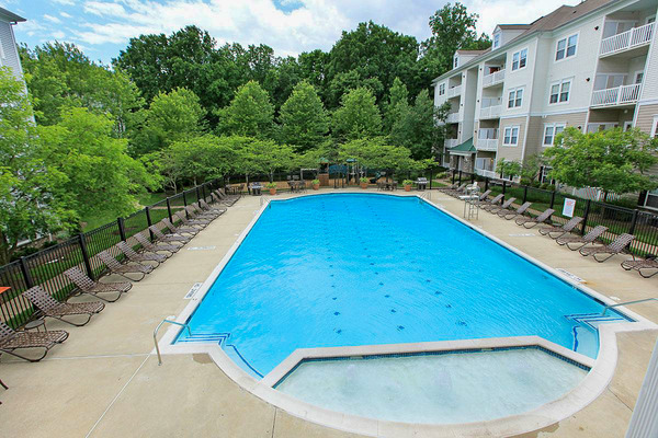 CBG builds The Park at Kingsview Village, a 326 Market-Rate Apartments in Germantown, MD - Image #3
