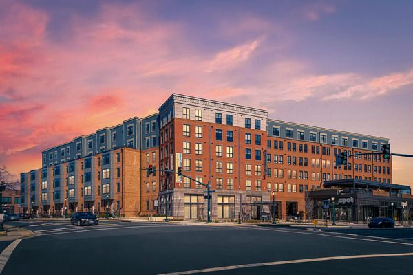 CBG builds The Metropolitan Rockville Town Center, a 275-Unit Mixed-Use Community with Below-Grade Parking in Rockville, MD - Image #1