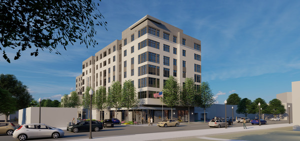 CBG builds Terwilliger Place, a Seven-Story, 160-Unit Affordable Community with Amenities and Retail in Arlington, VA - Image #1