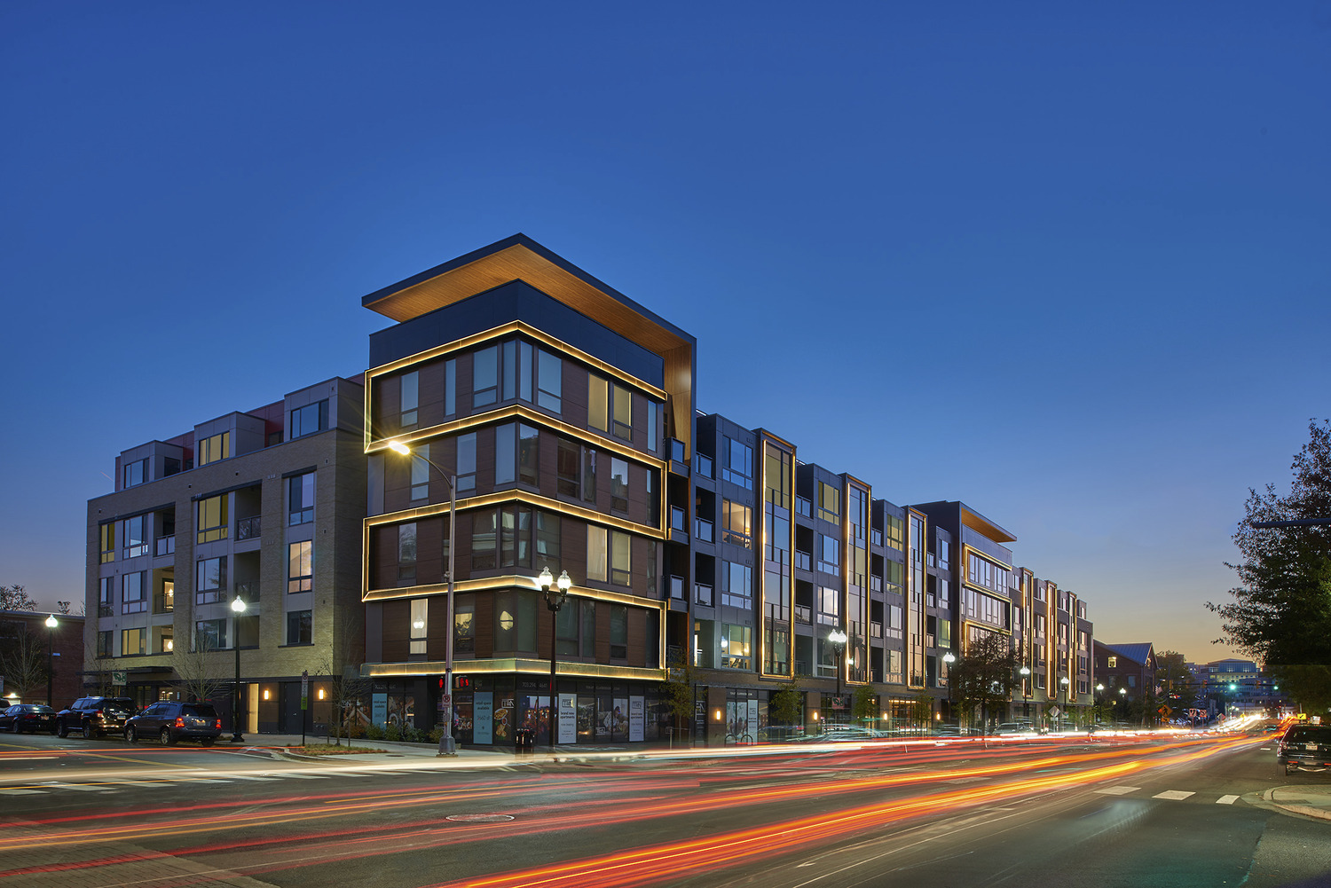 CBG builds Ten at Clarendon, a 143-Unit LEED® Platinum Community with Retail and Office Space in Arlington, VA - Image #1
