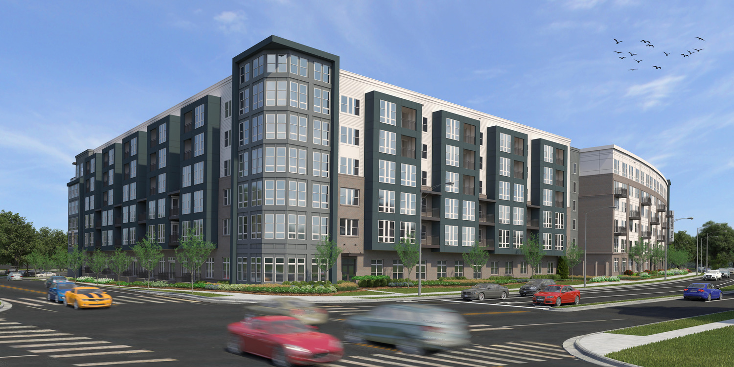 CBG builds Passport NOVA, a NGBS-Certified, 344-Unit Residential Community with Amenities and Precast Garage in Herndon, VA