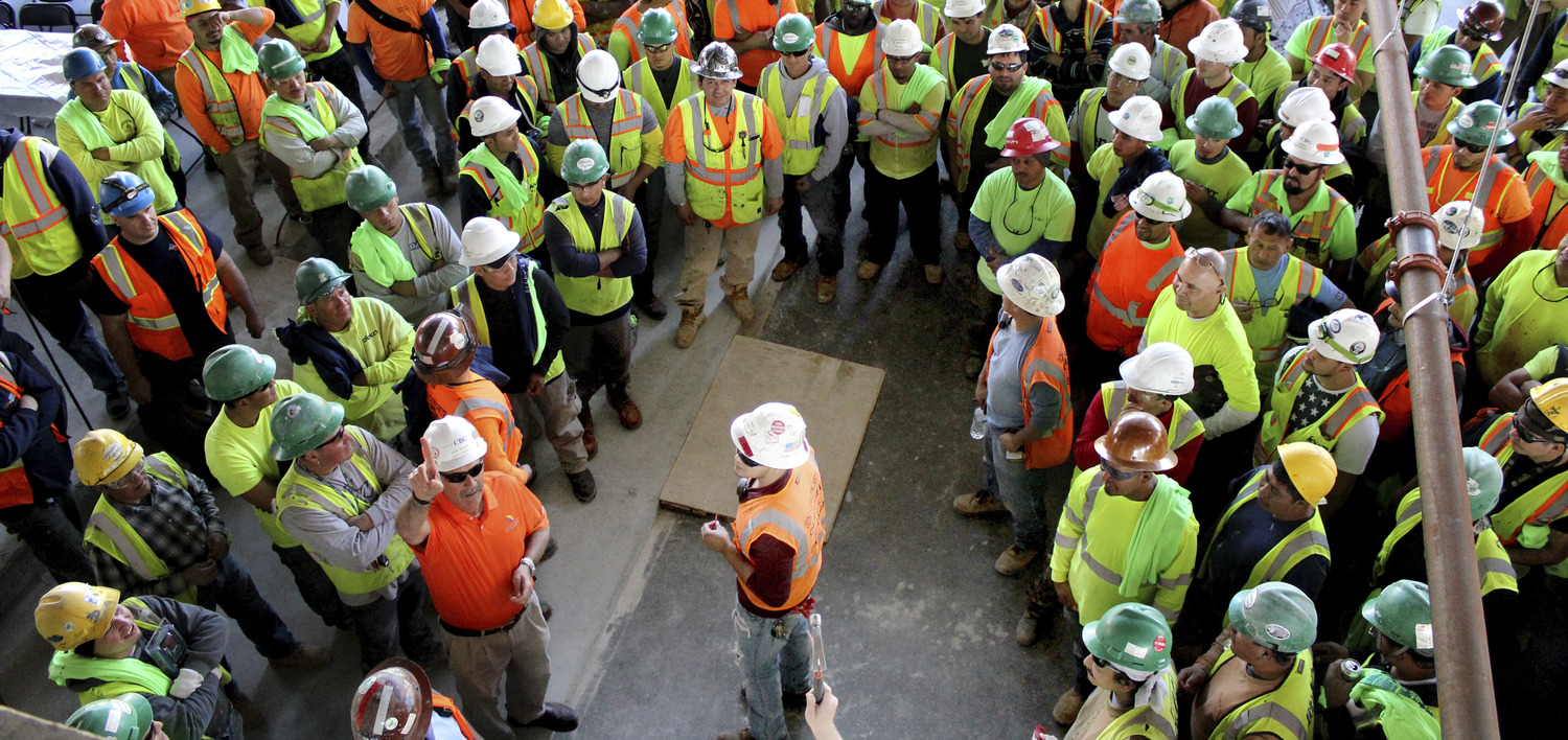 Thayer & Spring Commemorates Topping Out Press Release Image