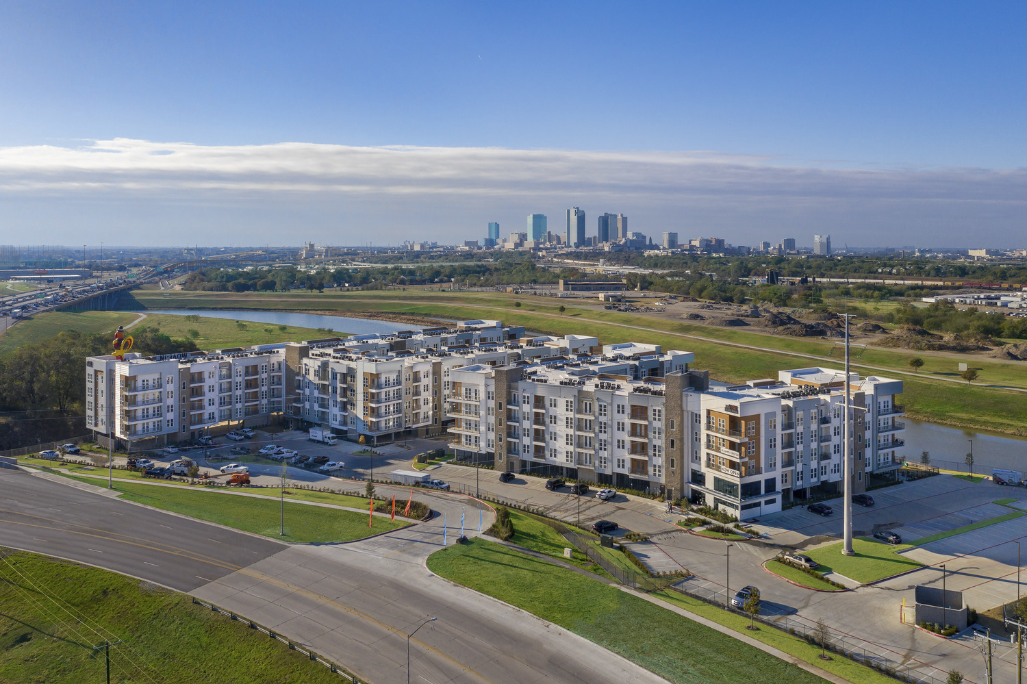 CBG builds The View of Fort Worth, a 300-Unit Apartment Community with Amenities in Fort Worth, TX