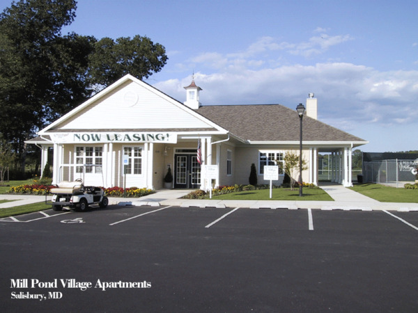 CBG builds Mill Pond Village Phase I, a 240 Market-Rate Apartments in Salisbury, MD - Image #2