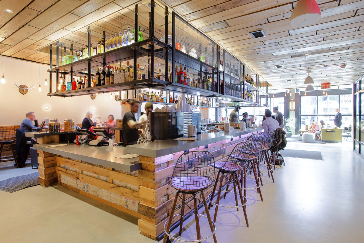CBG builds Moxy Hotel, a 13-Story LEED® Silver Hotel with Retail in Washington, DC - Image #4