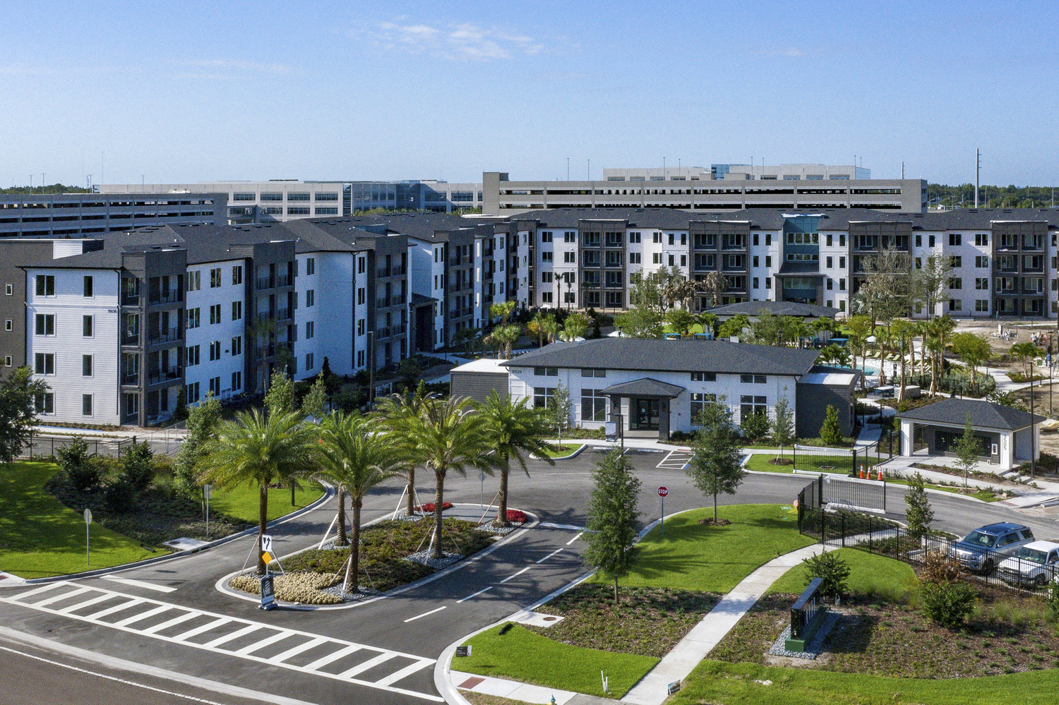 CBG builds The Avli at Crosstown Center, a Multi-Building Luxury Garden-Style Community with Clubhouse in Brandon, FL - Image #1
