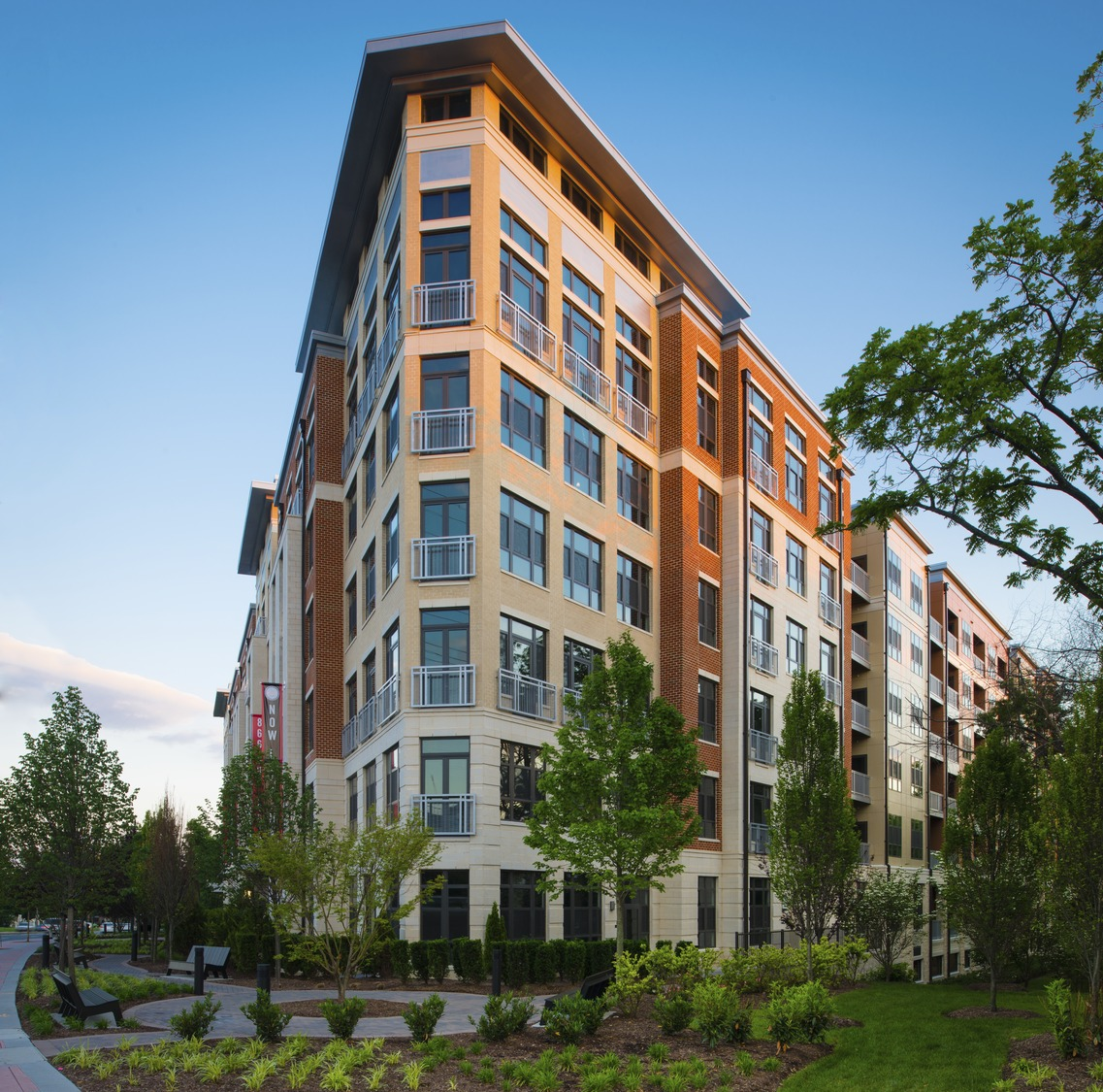 CBG builds Solaire Wheaton, a 232 Luxury Apartments above Parking Garage in Wheaton, MD