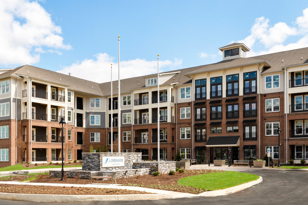 CBG builds J Creekside at Exton, a 291-Unit Luxury Community Across Four Buildings in Exton, PA - Image #1
