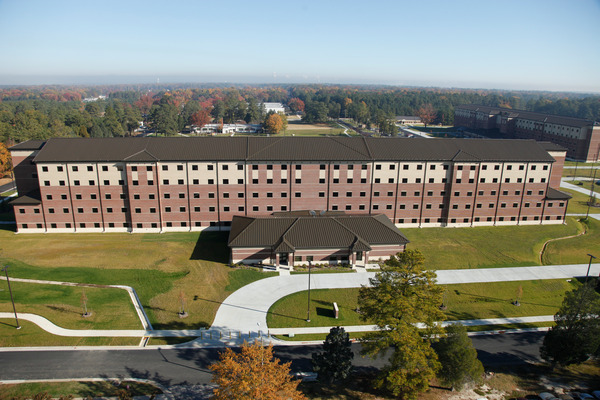 CBG builds Fort Lee AIT Barracks, a 600-Unit Advanced Individual Training Facility and Residential Complex in Fort Lee, VA - Image #6