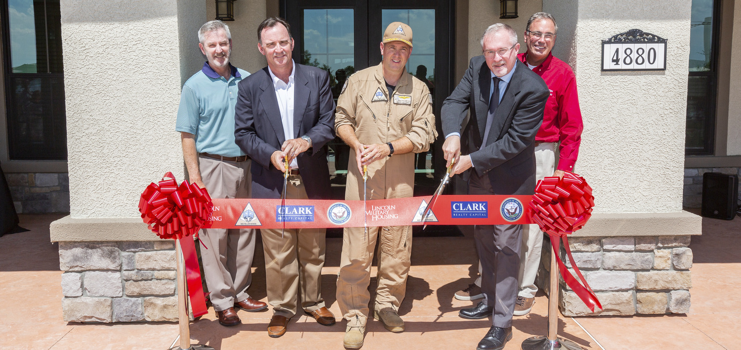 CBG Building Company Celebrates Phase One Completion of Nevada Military Community Press Release Image