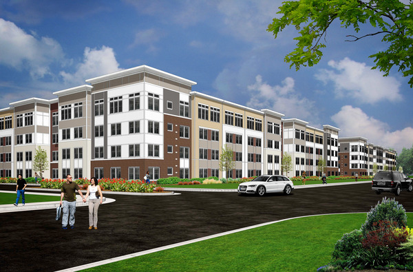 CBG builds Addison Row, a 321-Unit Residential Community Across Two Buildings in Master-Planned Development in Capitol Heights, MD - Image #1