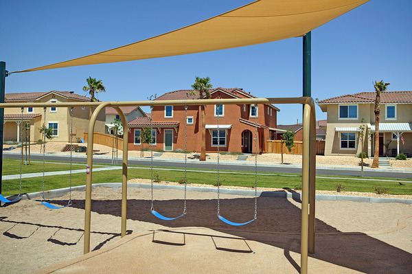 CBG builds The Villages at Fort Irwin, a 807 New Military Homes and 200 Senior Unaccompanied Housing Units in Fort Irwin, CA - Image #6