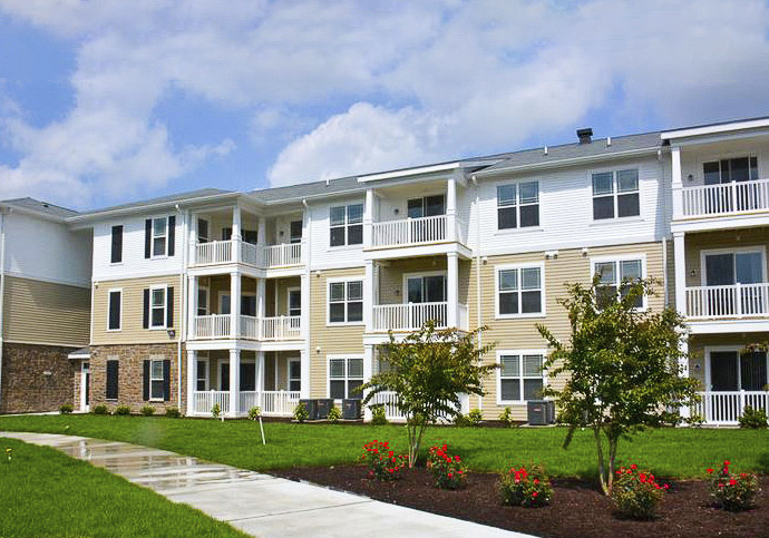 CBG builds Addison Court Apartments, a 300-Unit Apartment Community with Eight Detached Garages in Salisbury, MD - Image #1
