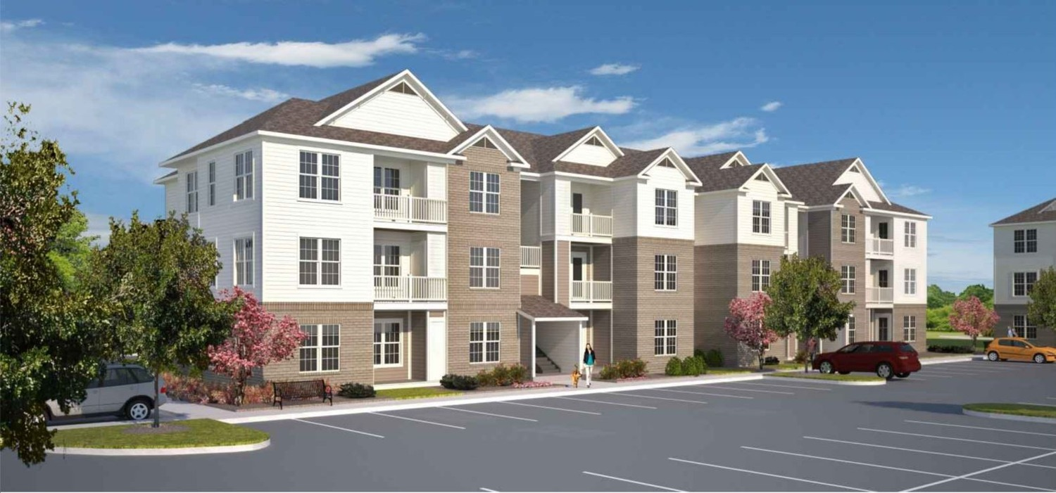 CBG builds Cambridge Commons, a Nine-Building Garden-Style Community with Parking and Amenities in Denver, NC