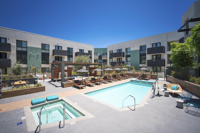 CBG builds Access Culver City, a 115-Unit Podium Apartment Project in Culver City, CA - Image #4