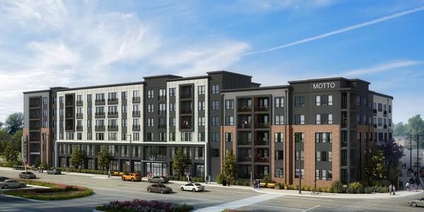CBG builds Toll Decatur, a 290-Unit Luxury Apartment Community Across Three Wrap Buildings with Precast Parking in Decatur, GA - Image #1