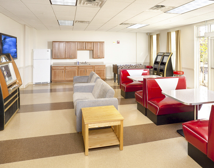 CBG builds Fort Belvoir Warriors in Transition Barracks, a 144 Units of Barracks for Soldiers Recovering from War Injuries in Fort Belvoir, VA - Image #5