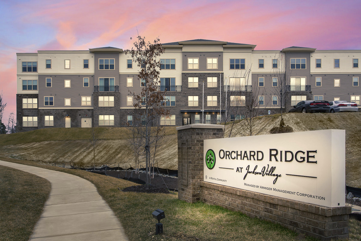 CBG builds Orchard Ridge at Jackson Village Phase I, a 169 Garden-Style Apartments Across Four Buildings with Amenities in Fredericksburg, VA
