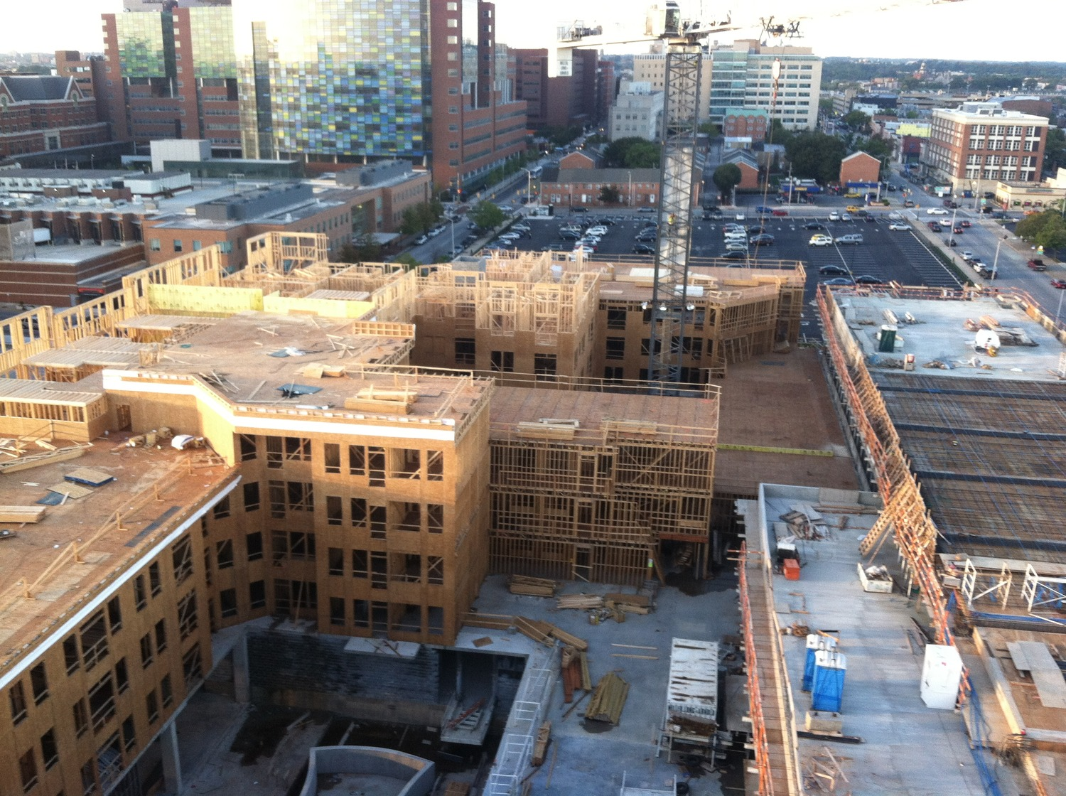 CBG builds Jefferson Square at Washington Hill, a 304-Unit Mixed-Use Apartment Community with Cast-in-Place Parking Garage in Baltimore, MD - Image #3