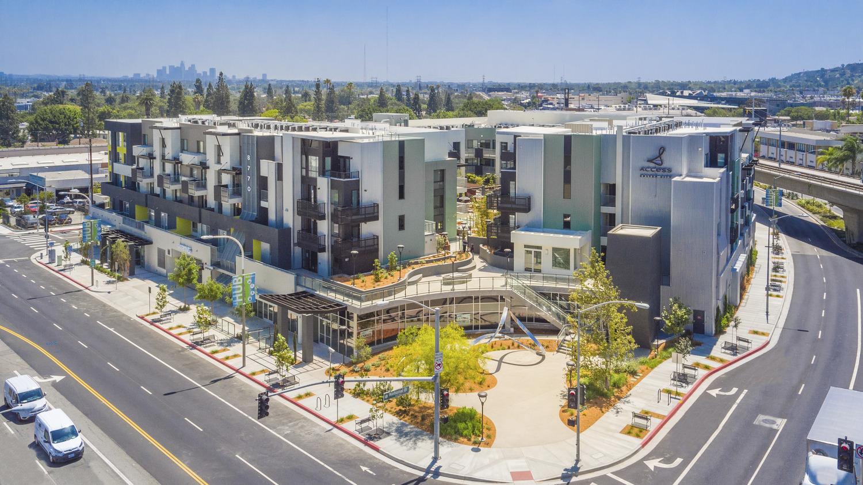 CBG builds Access Culver City, a 115-Unit Podium Apartment Project in Culver City, CA - Image #1