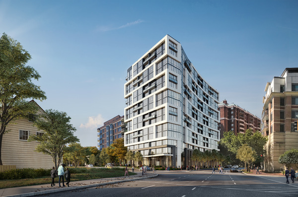 CBG builds Edgemont II, a 15-Story LEED® Gold High-Rise with Retail and Below-Grade Parking in Bethesda, MD - Image #1