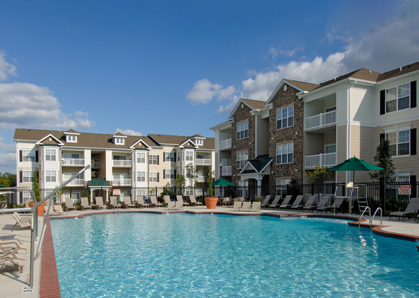 CBG builds The Elms at Montjoy, a 286 Market-Rate Apartments in Ellicott City, MD - Image #1
