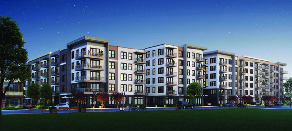 CBG builds Hazel Dallas Apartments, a 398-Unit, Six-Story Luxury Apartment with Precast Parking and Wellness Center in Dallas, TX - Image #2