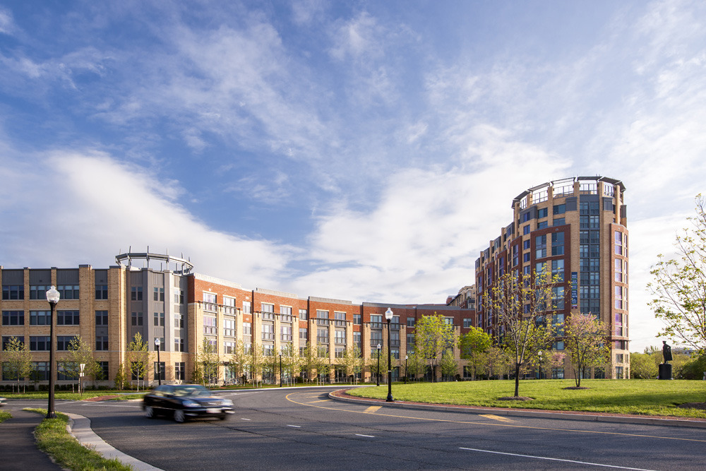 CBG builds Post Carlyle Square, a 354 Luxury Apartments Across Two Buildings Over Below-Grade Garage in Alexandria, VA