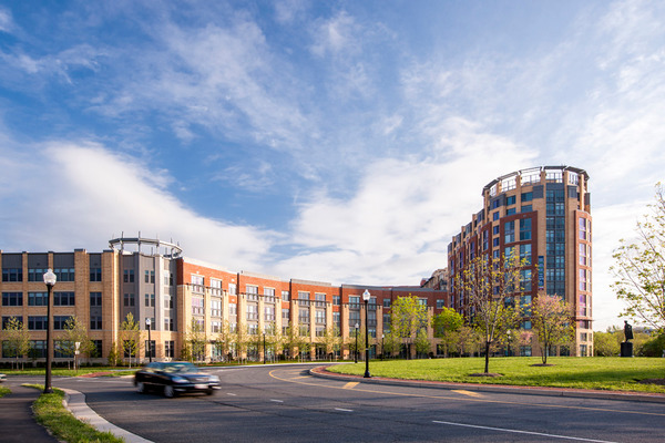 CBG builds Post Carlyle Square, a 354 Luxury Apartments Across Two Buildings Over Below-Grade Garage in Alexandria, VA - Image #1