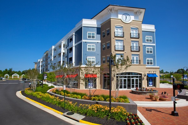 CBG builds City Center, a 291 Market-Rate Apartments and 45,000 SF of Retail in Mixed-Use Town Center in Manassas Park, VA - Image #1