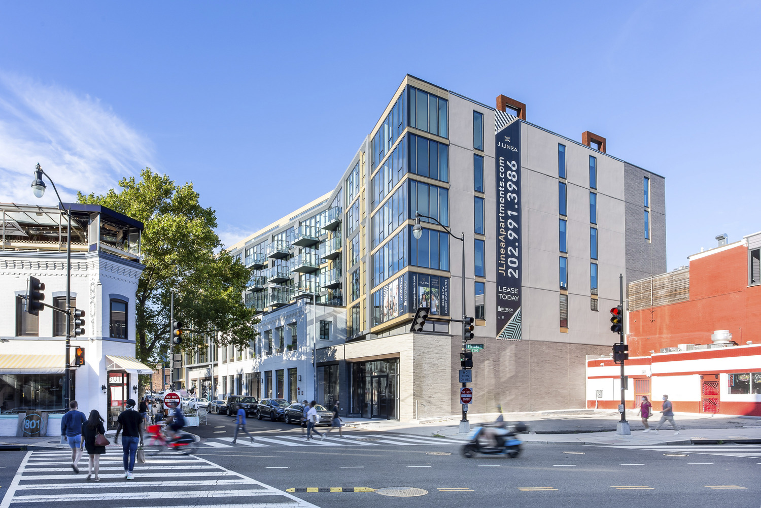 CBG builds J Linea, a 132-Unit LEED®-Certified Community with Ground-Floor Retail in Washington, DC - Image #1
