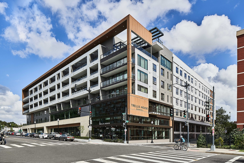 CBG builds Trellis House, a 319-Unit LEED® Platinum Mixed-Use Community with Amenities in Washington, DC - Image #1