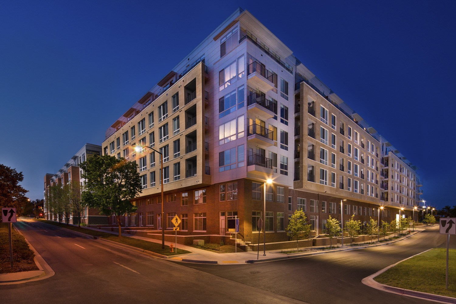 CBG builds The Metropolitan Downtown Columbia, a 380-Unit Mixed-Use Development with Parking Garage in Columbia, MD - Image #1