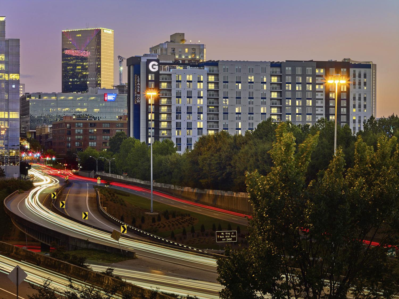 CBG builds Generation Atlanta, a 336-Unit, 17-Story Luxury Community with Above-Grade Parking in Atlanta, GA - Image #1