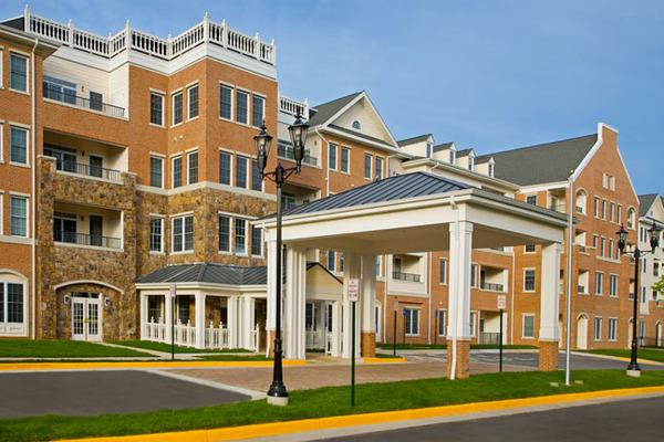CBG builds The Woodlands, a 110-Unit Luxury Senior Living Campus in Fairfax, VA - Image #1