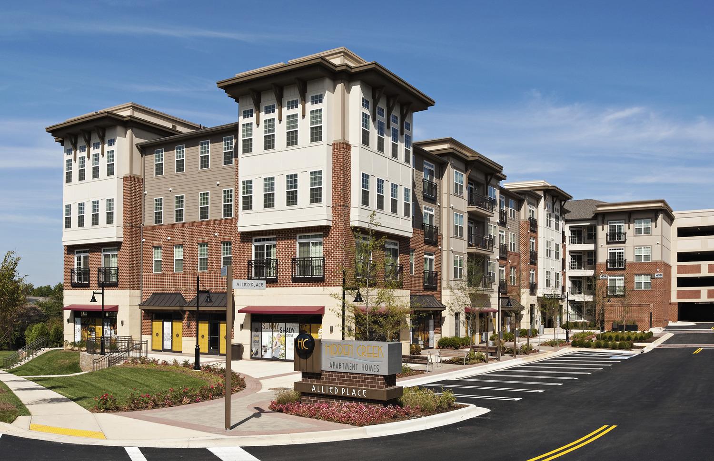 CBG builds Hidden Creek Apartment Homes, a 300-Unit Apartment Community Surrounding Precast Garage in Gaithersburg, MD - Image #1