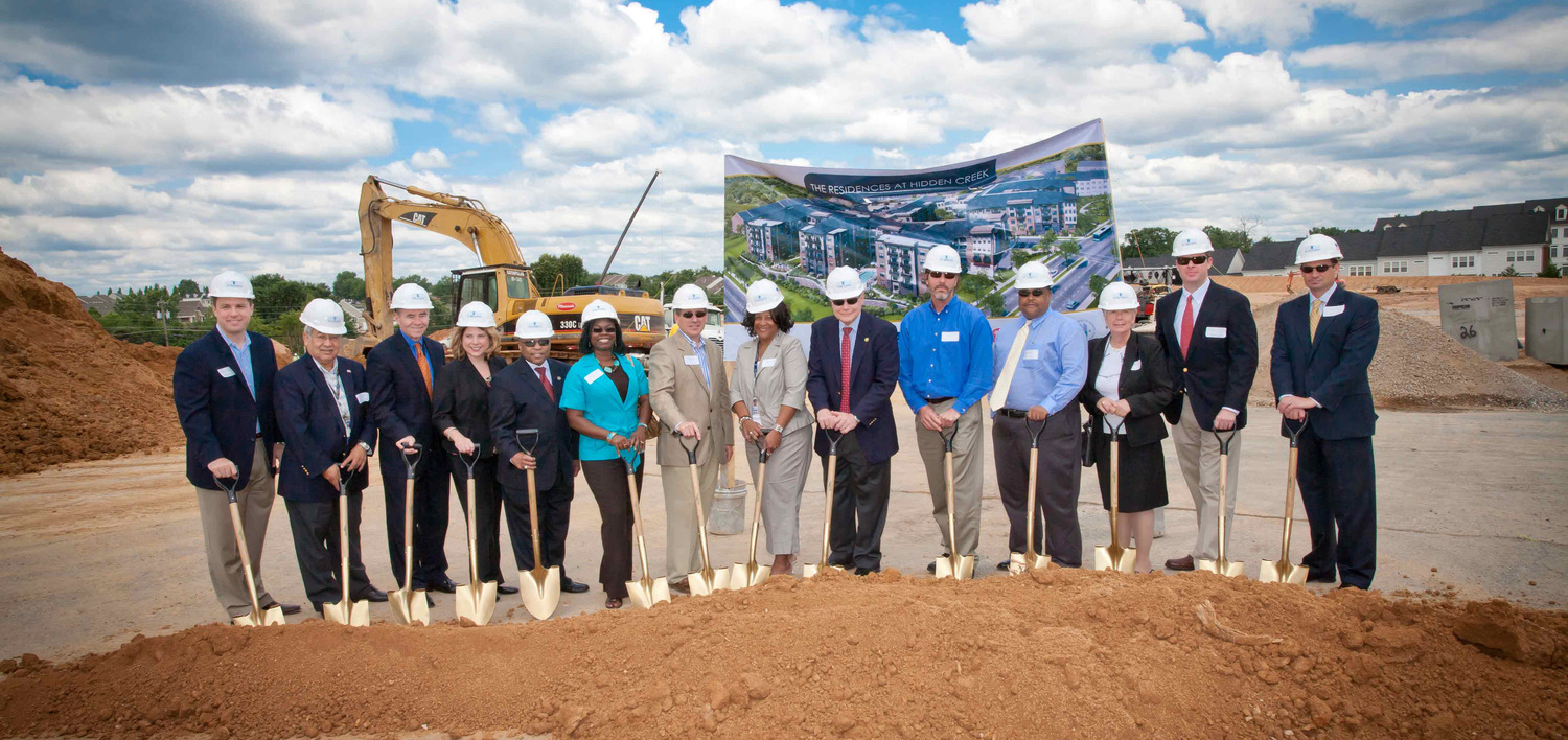 Woodfield Investments and Clark Builders Group Break Ground in Old Towne Gaithersburg Press Release Image