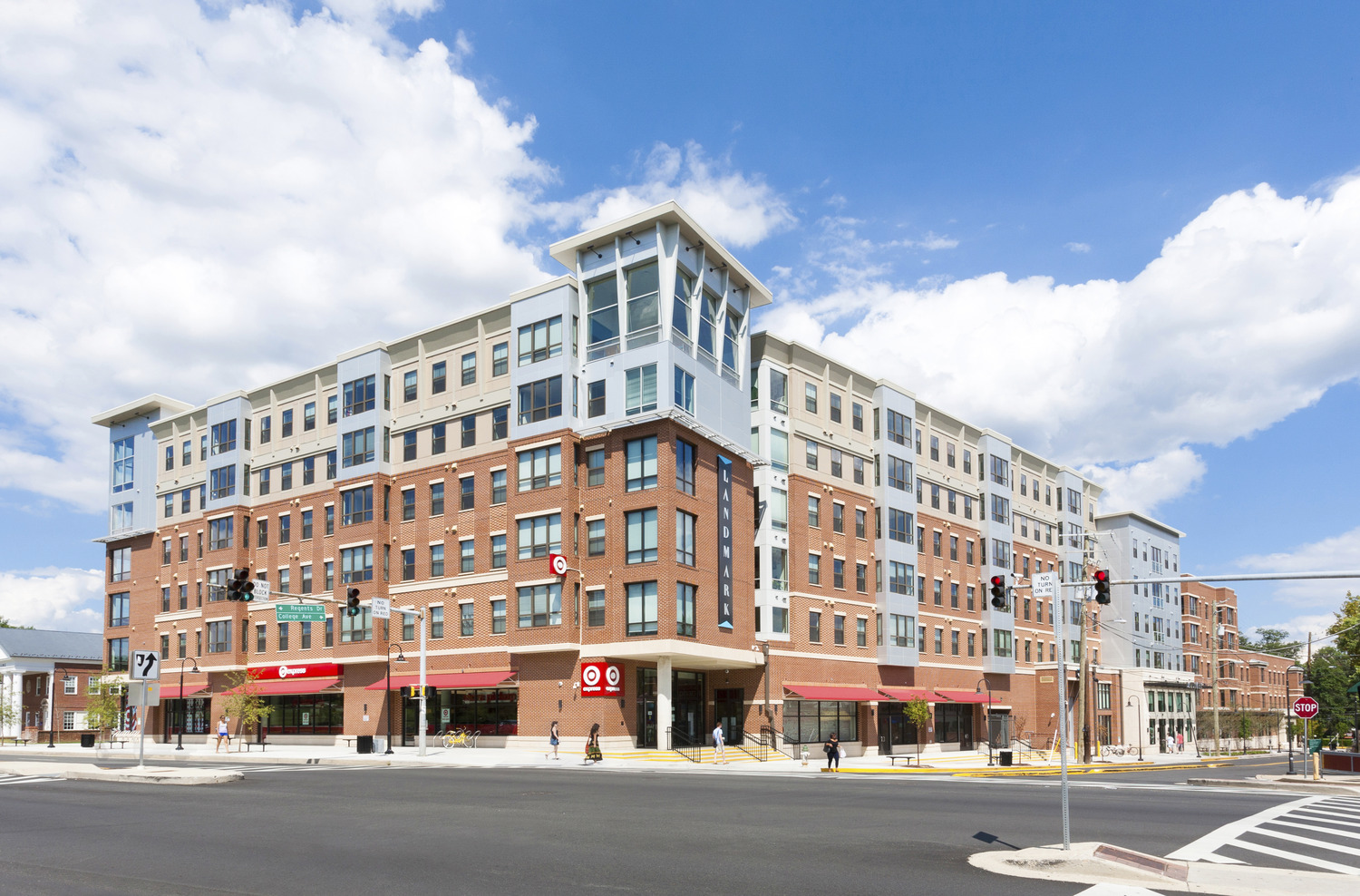 CBG builds Landmark College Park, a 283-Unit, 843-Bed Student Housing Community with Retail in College Park, MD - Image #1