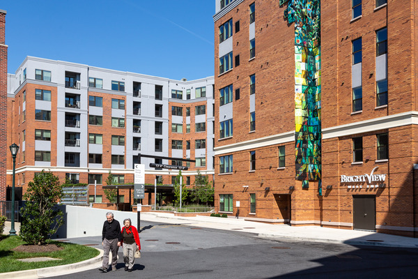 CBG builds Brightview West End, a 195-Unit Senior Living Community with Retail and Below-Grade Parking in Rockville, MD - Image #3