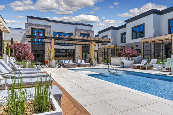 CBG builds Hazel SouthPark, a 203-Unit Luxury Community with Five-Story Parking Garage in Charlotte, NC - Image #3