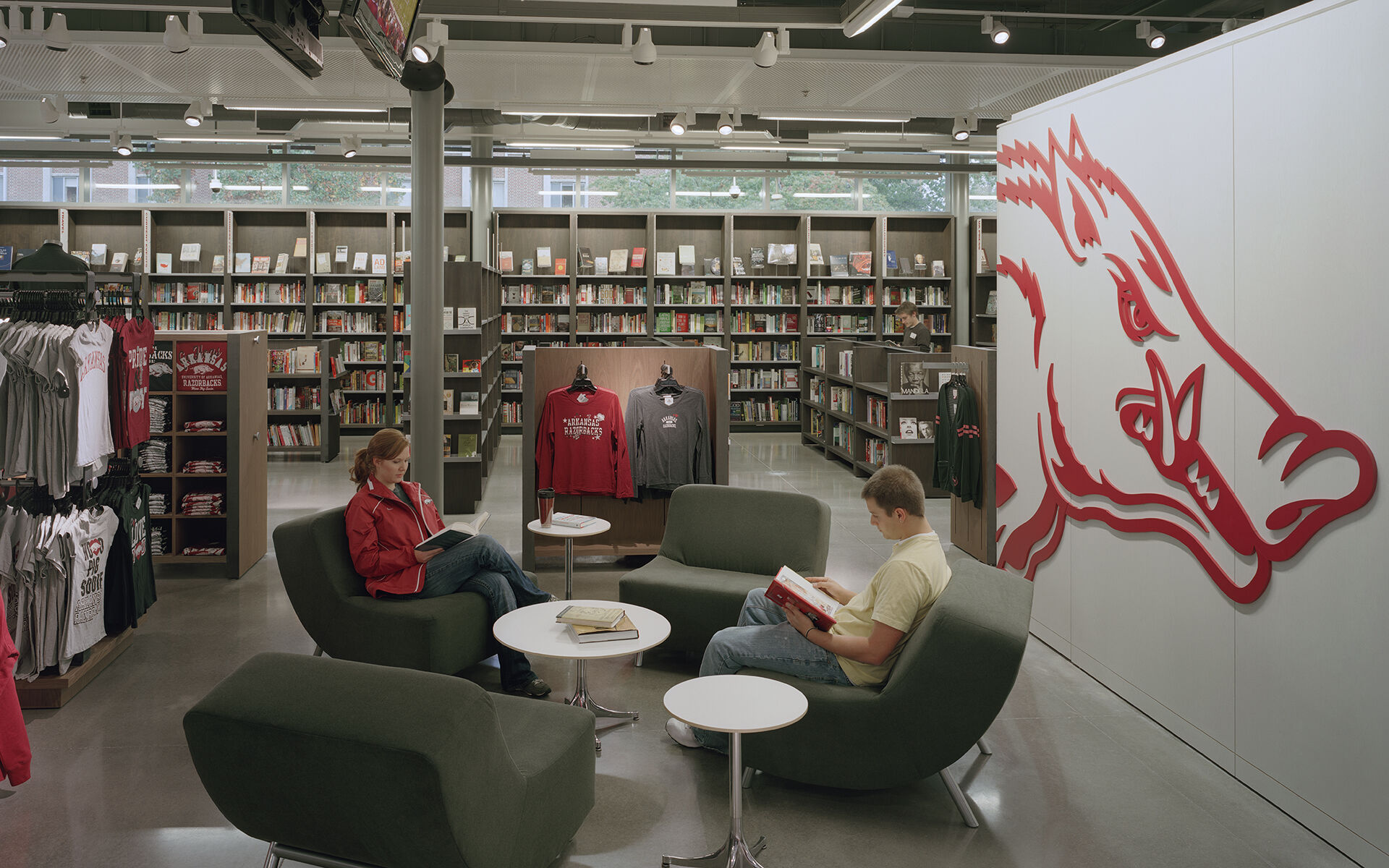 Garland Center Bookstore & Parking Garage - University of Arkansas