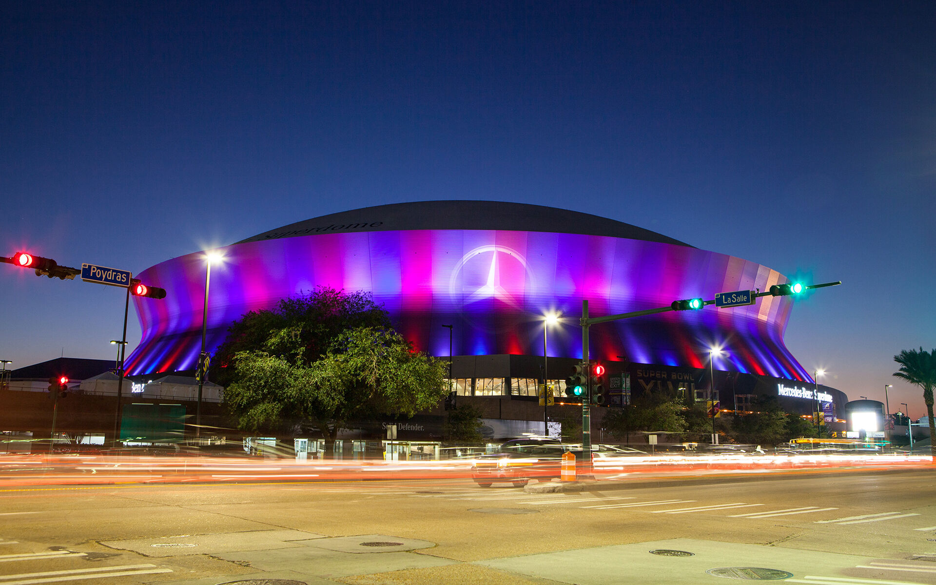 Mercedes-Benz Superdome Enhancement - New Orleans Saints