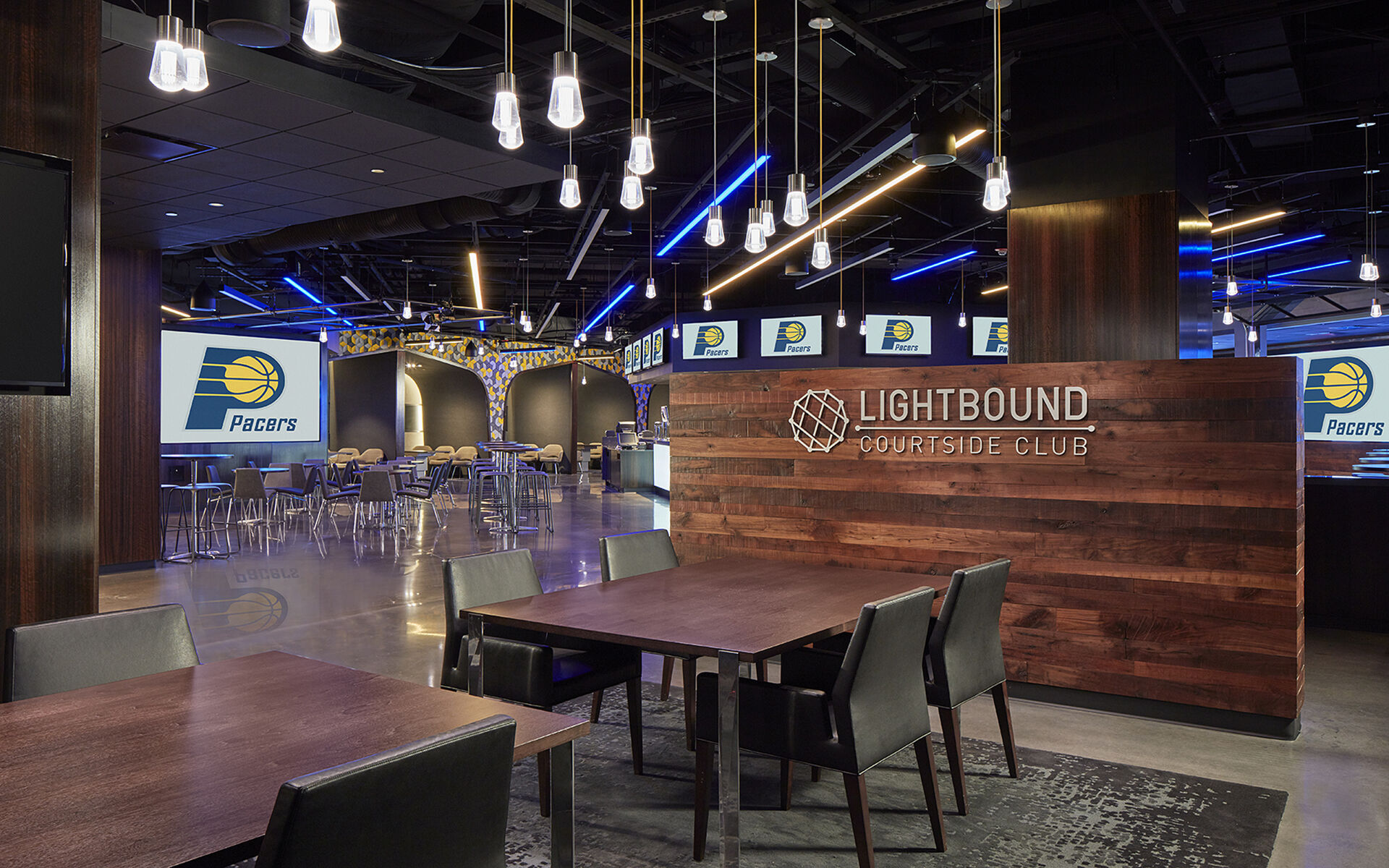Bankers Life Fieldhouse Club Upgrades - Indiana Pacers