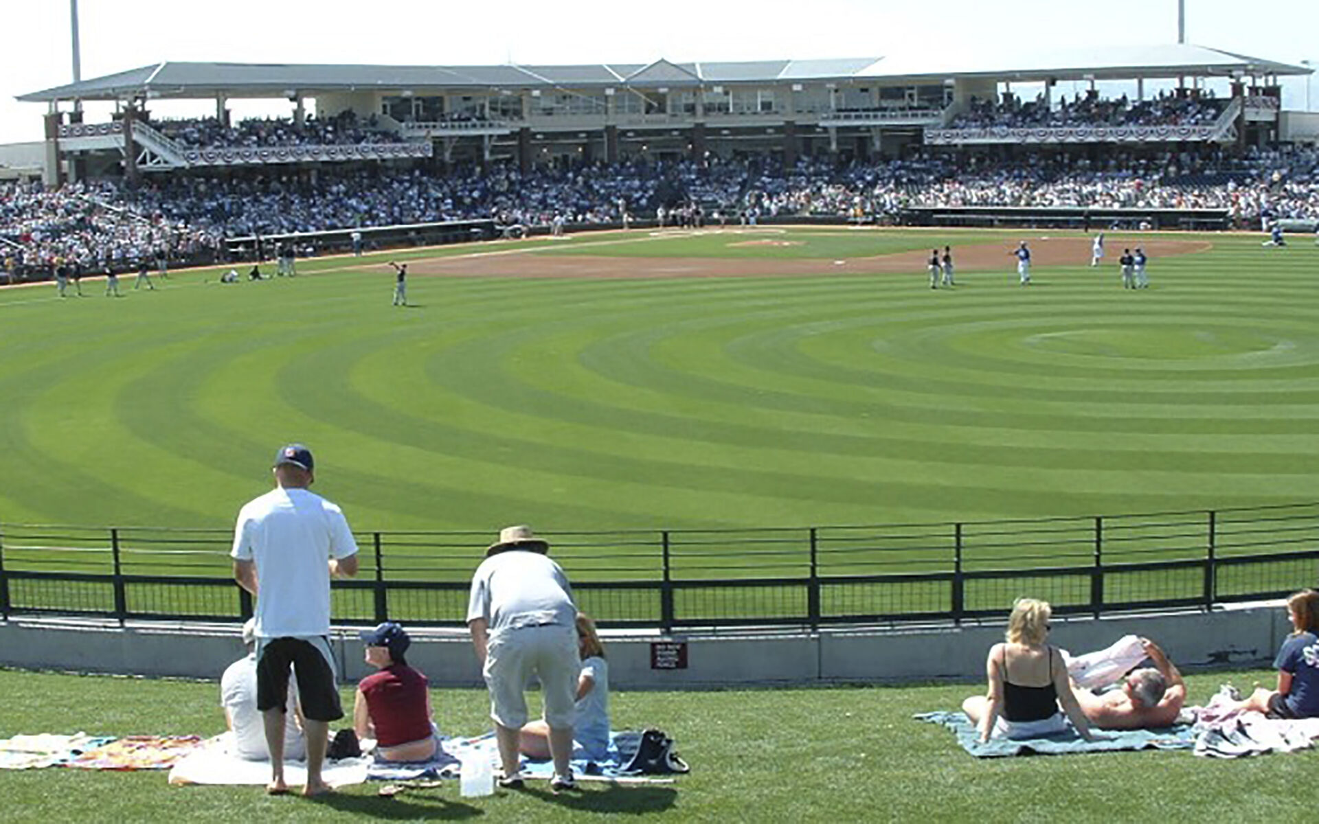 Surprise Stadium Spring Training Facility - Texas Rangers & KC Royals