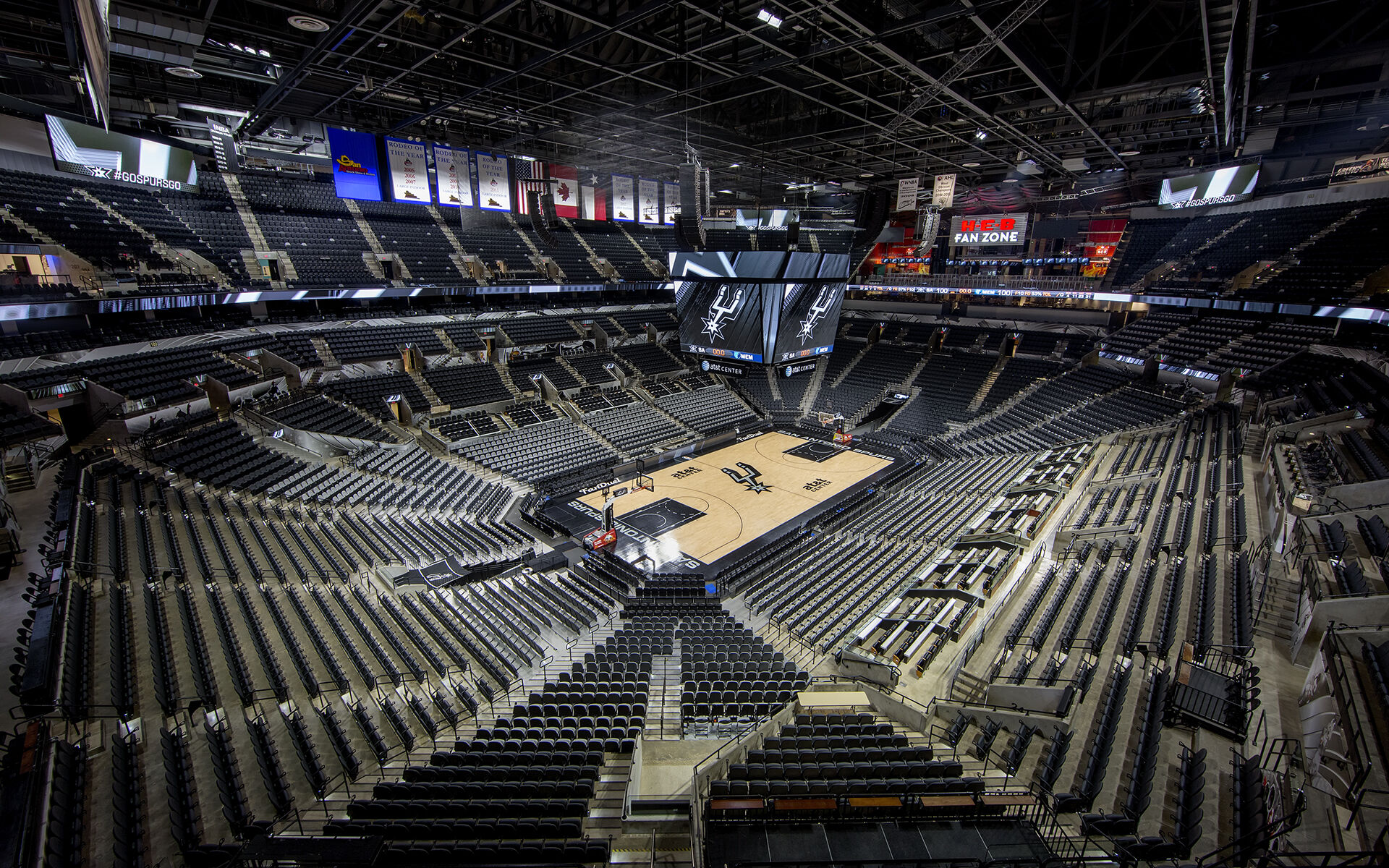 AT&T Center Retro-Commissioning - San Antonio Spurs