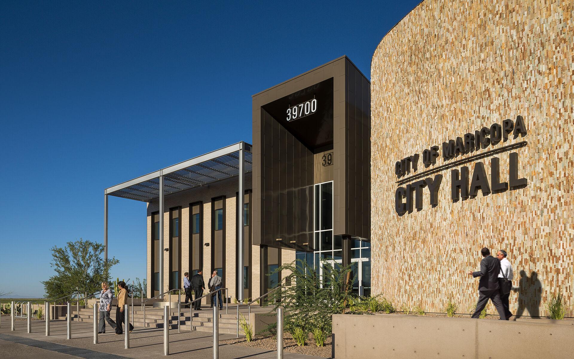 Complex & Police Facility - City Hall Complex & Police Facility