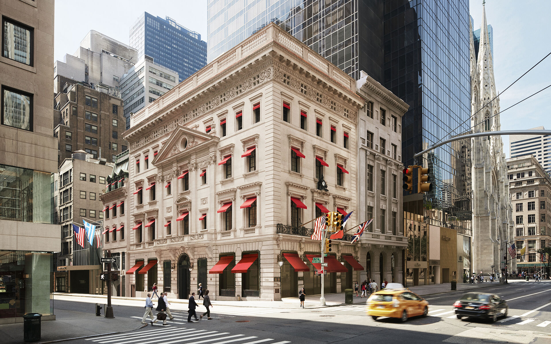 Cartier Mansion Renovation